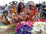 flores Viaje a la India
