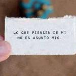 No es asunto mío…